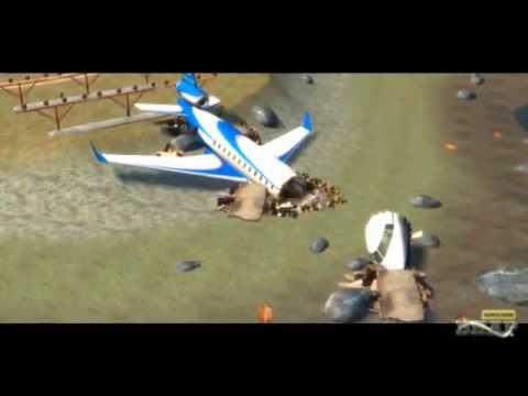 GTA IV acidente de avião xp HD 720p