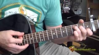 Avicii - Wake Me Up Guitar Tutorial (CORRECT VERSION WITH INTRO!)