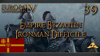 [FR] Europa Universalis IV : The Cossacks - L'Empire Byzantin - Ironman Difficile - 39