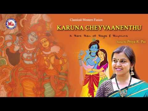 KARUNA CHEYVAANENTHU   Hindu Devotional Song    Krishna   Priya R Pai