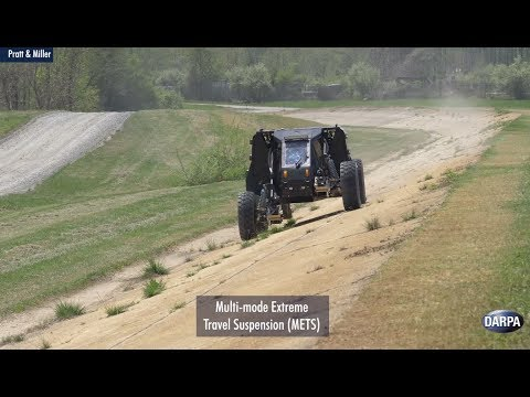 Demonstrations of DARPA s Ground X Vehicle Technologies