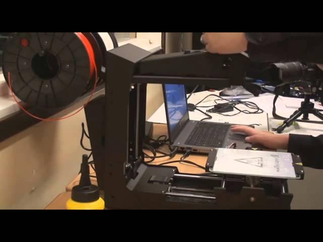 Minifactory 3d tulostimen käyttöä Konneveden lukiossa