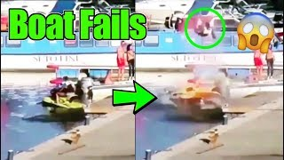 Boat Fails Compilation | Boat Launch Fails