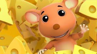 Squeak Squeak Mouse Nursery Rhymes | Children Rhymes | Kids Videos by Farmees