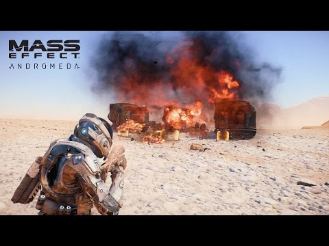 MASS EFFECT Andromeda | Combat Weapons & Skills | Official Gameplay Series - Part 1