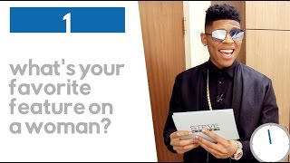 Bryshere Gray: 30 Second Quick Questions || STEVE HARVEY