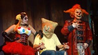 HHN25 Halloween Horror Nights Jack The Clown - The Carnage Returns 2015 Full Show