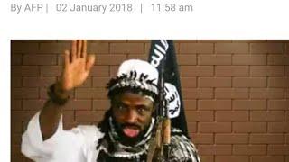 ABUBAKAR Shekau, BOKO HARAM LEADER appears in new year video - 2018