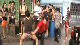 Funny Gay Sexy dance asian - Thailand