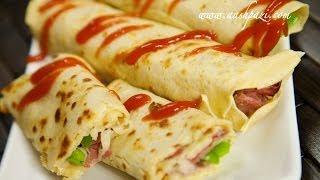 Pastrami Wraps (Pastrami Roll Ups) Recipe