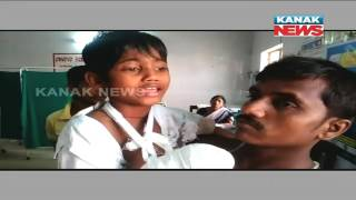 3 Children Injured As Mobile Battery Exploded In Nayagarh
