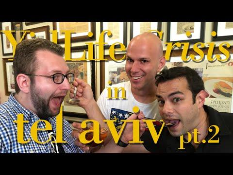 YidLife Crisis in Tel Aviv - Pt. 2 - Canadians in Cabs Getting Kishkas