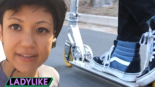 Women Ride Scooters Everywhere For A Day • Ladylike