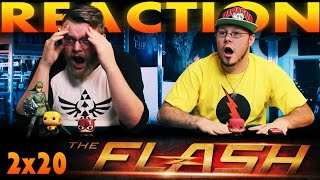 The Flash 2x20 REACTION!!