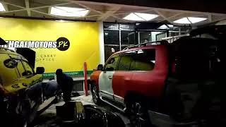 Toyota Prado Facelift Conversion to 2018 with Modellista BodyKit