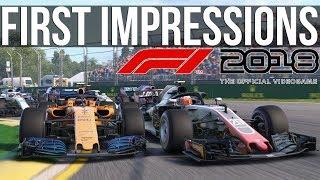 F1 2018 First Impressions - Does It Drive Like A Sim?