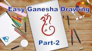 Easy Ganesha Drawing for Kids- Part-2 | Kids Learning Video | Shemaroo Kids