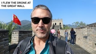 WORLD TRAVEL - Beijing China (GREAT WALL OF CHINA) - DRONE FOOTAGE!