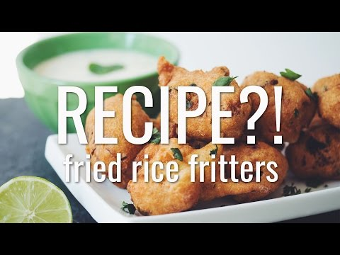 Xxx Mp4 FRIED RICE FRITTERS RECIPE EP 10 Hot For Food 3gp Sex