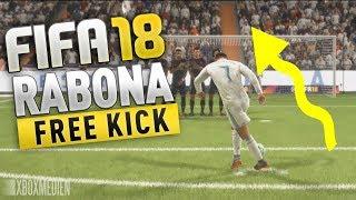 FIFA 18 Rabona Free Kick Tutorial (Xbox One, PS4, PC) Animated Controllers