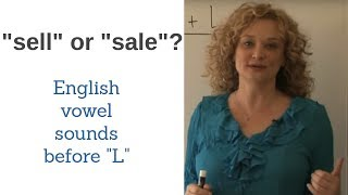 Pronunciation of English L sound after long vowels.  Accent reduction lesson.