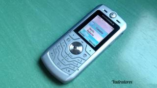 Motorola SLVR L6 retro review (old ringtones, wallpapers...)