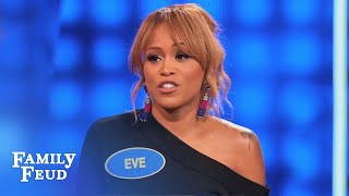 Ladies, do your EYES go straight to a GUY'S... | Celebrity Family Feud