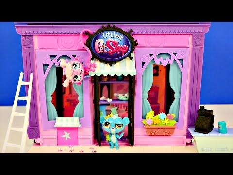 Littlest Pet Shop 135 Piece Style Set Custom Design Exclusive Minka Sunil Kitery Toys LPS Pets