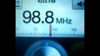 Kiss FM Braila (cu RDS)-98,8  Fm Receptionat In Panciu
