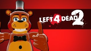 Left 4 Dead 2 Lustige Momente  - Five Nights at Freddy's mit DUFiX