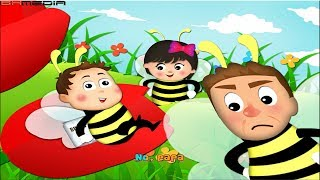 Johny Johny Yes Papa Songs Lyric | My Litter Bee | Nursery Rhymes and Songs for Children