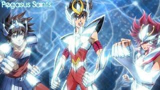 Saint Seiya Series [AMV] - Rise ᴴᴰ