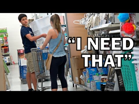 Shopping Out Of People s Carts PRANK