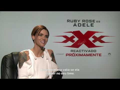 XXX Reativado :: Entrevista exclusiva com RUBY ROSE