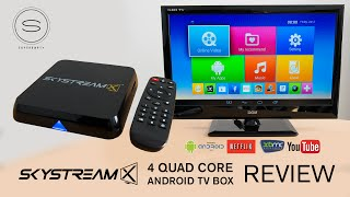 SkyStreamX 4 Quad Core Android TV Box Review (XBMC)