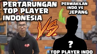 PERTARUNGAN PANAS TOP PLAYER INDO LAGI NIH, TongPang vs ClashWithDz - Clash Royale Indonesia
