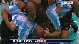 El recuerdo de Los Gladiadores: la Selección Argentina de Handball es olímpica en Guadalajara