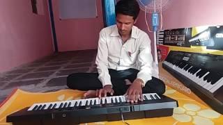 सैराट झालं जी song playing on casio by सुशांत बुधे,कराड 8600013130