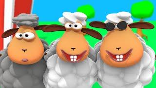 Bä bä vita lamm - Barnvisa på svenska