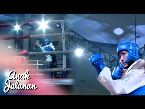 Keren Pertarungan Reva Vs Lady Sampai KO [Anak Jalanan] [30 Mei 2016]