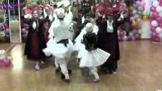 dance school ....adult and children Folk group from Elbasan Albania.flv