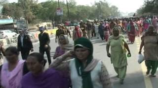Bathinda Angarwadi Worker Protest Shot 1