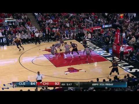 LeBron James vs Dwyane Wade Defensive