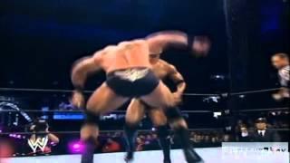 Triple H Vs The Rock Vs Brock Lesnar    HD
