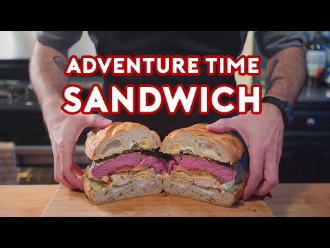 Binging with Babish Jake s Perfect Sandwich from Adventure Time