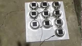 Energia solar caseira