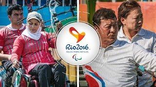 Ir Iran v Korea – compound mixed team quarterfinal   Rio 2016 Paralympics