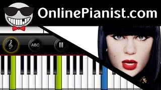 Pitch Perfect 2 - How to play Flashlight by Jessie J - Piano Tutorial (Easy & Advanced)