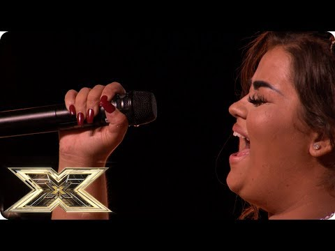 It's Never Enough for Scarlett Lee | Auditions Week 2 | The X Factor UK 2018