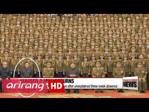N. Korea's no. 2 man back in public eye after unexplained three week absence